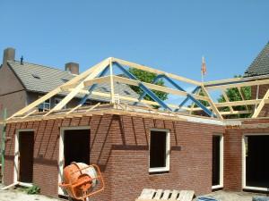 kap constructie nieuwbouw / aanbouw
